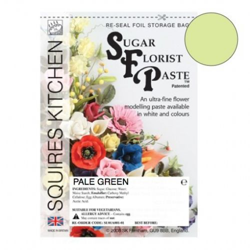 Sugar Florist Paste - Pale Green 200g.